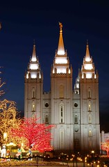 LDS Temple in Salt Lake City by mstrwhew