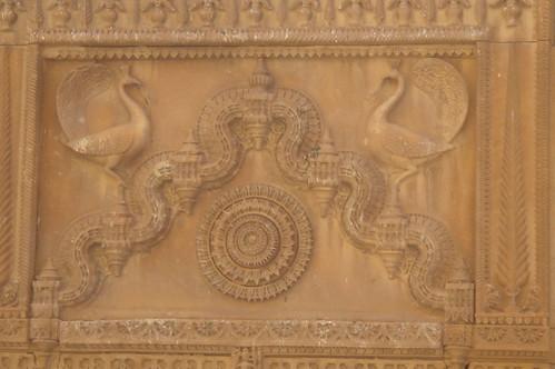 Jaisalmern Fort1-34 Peacock