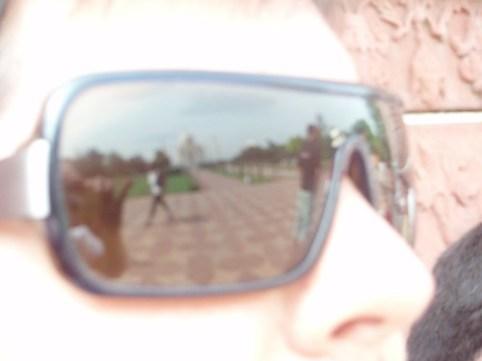 El reflejo del Taj Mahal