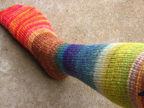A Slice of Heaven and Earth Socks