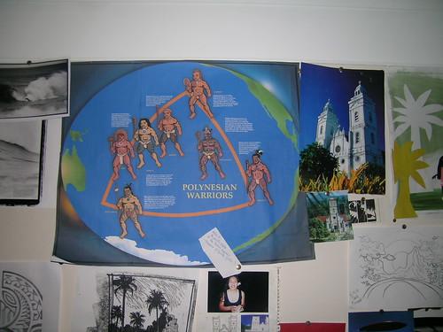 polynesian Toa poster