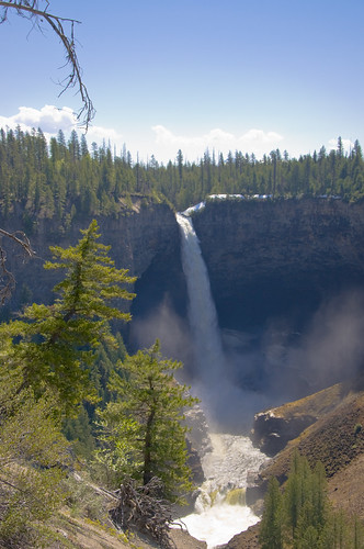A View of the Helmcken Falls
