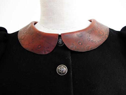 bara baras - coat  collar