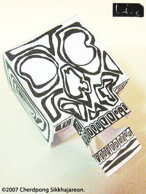 LINE skull for Skulladay 01