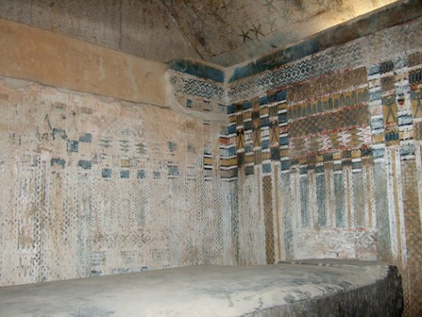 Unas Pyramid - Sarcophagus chamber