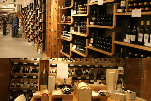 Eataly, Wine and really expensive wine
