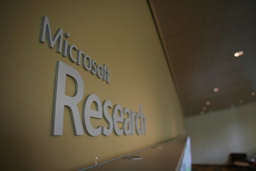 Welcome to Microsoft Research building 99