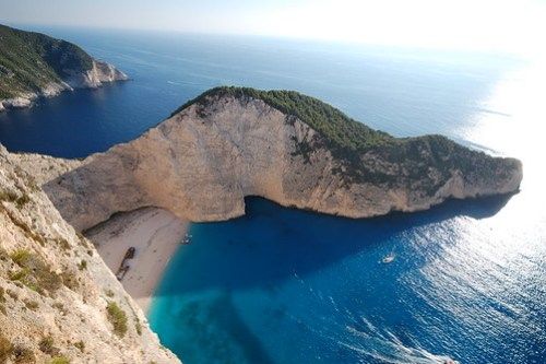 Navagio Beach(AKA Shipwreck Beach), Zakyntos Island, Greece