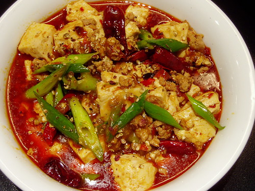 pock-marked Mother Chen's beancurd - ma po dou fu
