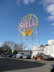 Historic Shell sign