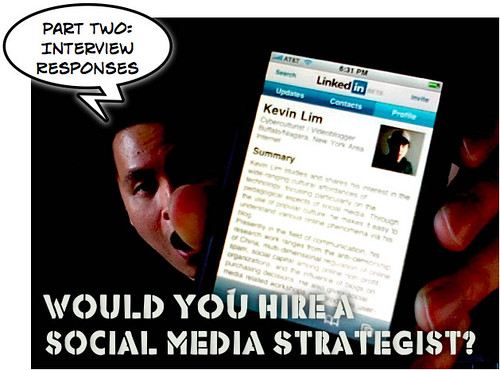 Would you hire a social media strategist (Part 2)