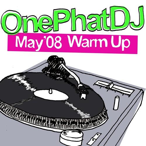 May '08 Warm Up artwork by Sam Hardacre