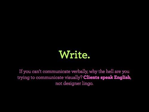 03. Write by Mig Reyes.