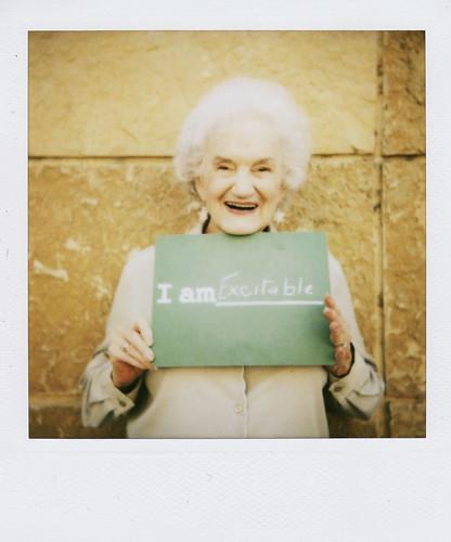 a sweet old grandma
