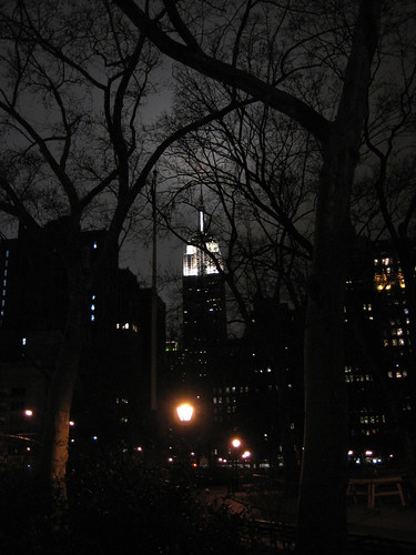Empire State at night