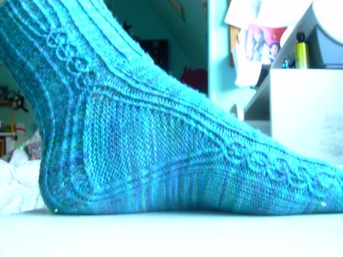 Firestarter sock