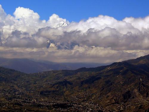 Nevado Illimani, Bolivia
