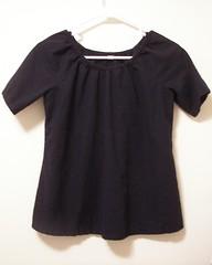 Simplicity 3835 Maternity Navy Linen