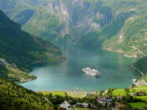 View of Geirangerfjord - TravelingOtter