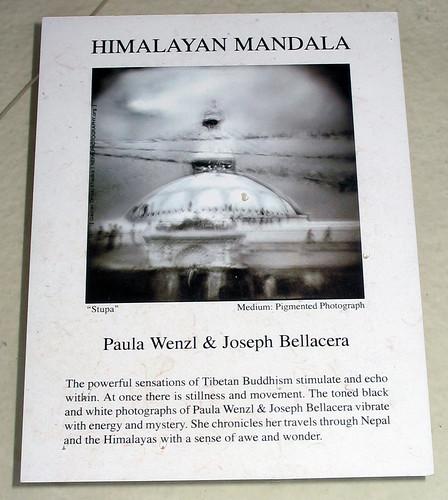 Himalayan Mandala by Paula Wenzl & Joseph Bellacera