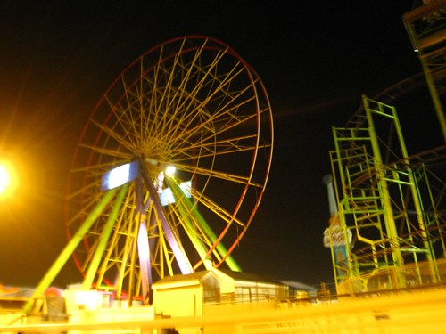 empty ferris wheel