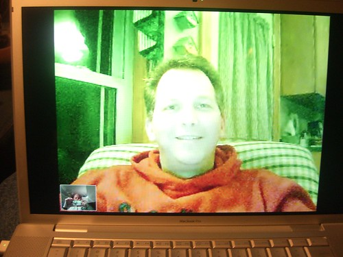 Skyping wth Todd