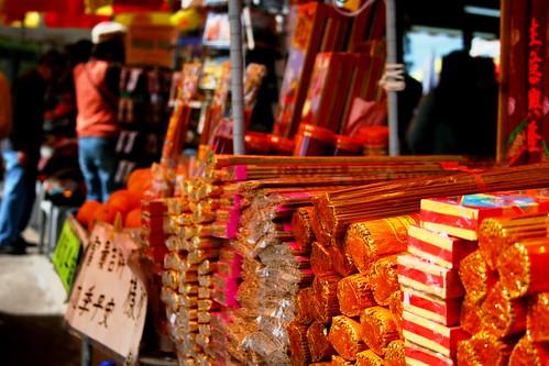 Incense at Po Lin