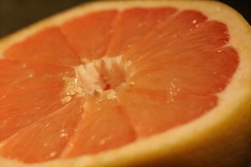 Behold, a grapefruit!