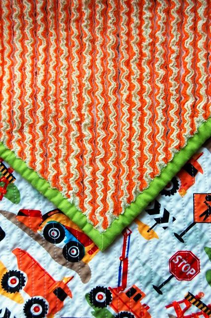 Cut Chenille Blanket