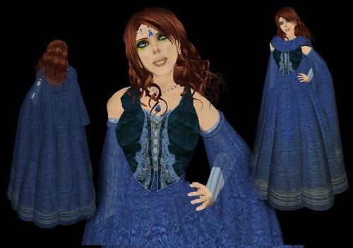 Avilion Mist Ren Dress Blue