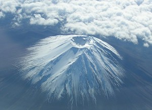 Mt. Fuji: Looking Into the Crater