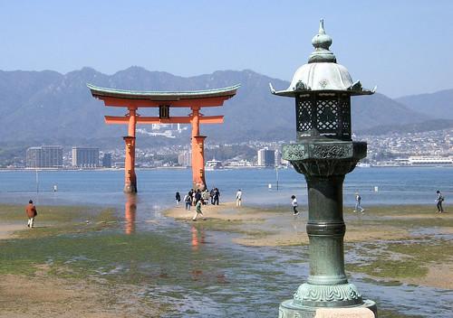 Torii flotante de Itsukushima-jinja.