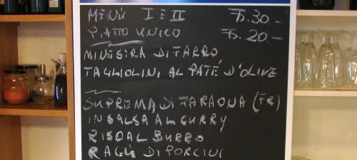 Speisekarte Ristorante Malakoff