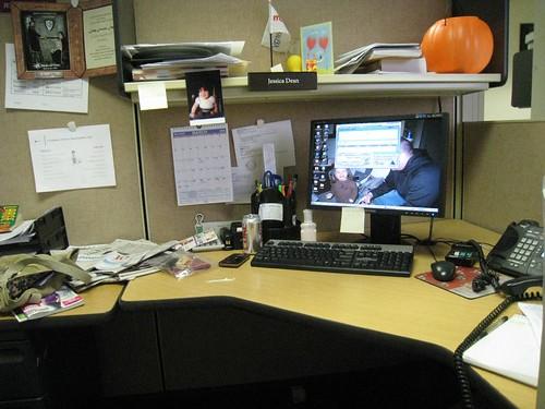 Desk View 2