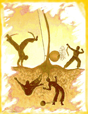 Capoeira, the child of Africa and Brazil