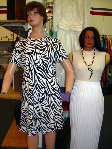 Mutated thrift store mannequins