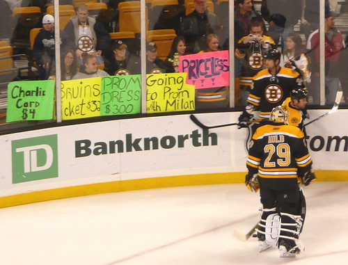 Lucic fans think a date with him would be priceless!