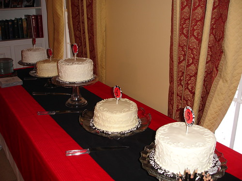 cake tasting!