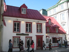 Aux anciens Canadiens, Québec City