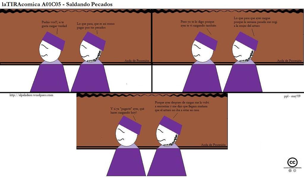 laTIRAcomica A01C05 - Saldando pecados