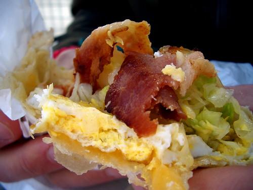 Our favourite breakfast burrito