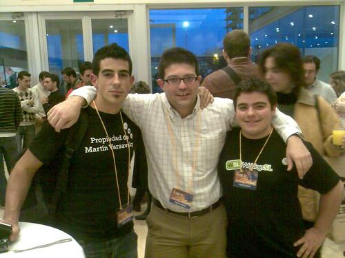 Con Carlos Mantero y Manuls