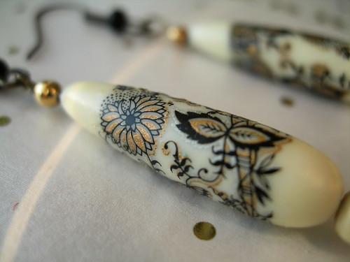 Orient Earrings (detail)