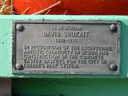 Plaque for David Shukait
