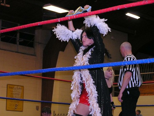Ms. Naturals last night as WLW Ladies Champ.  She lost the title that night to Stacey OBrien (April 25, 2008 in Lebanon, MO).