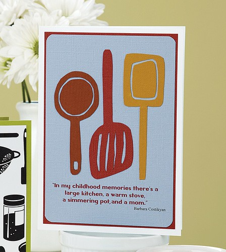 Kim Kestis Kitchen, Stove, & Mom Card from CC7