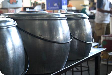 Dessert pots