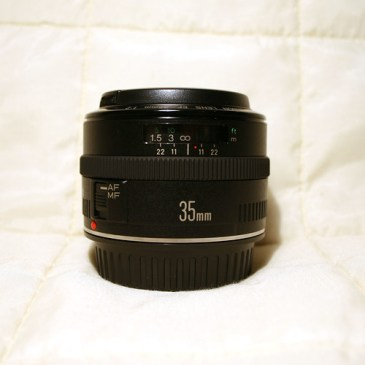 My new toy - Canon EF 35mm f/2 prime lens