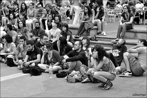 Indignats del moviment 15 Maig 3 by ADRIANGV2009