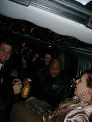 Riding in the Limo